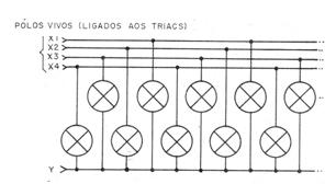 Figura 6 - Conexión de las lámparas