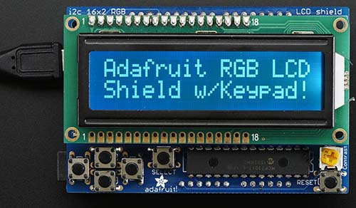 Shield de display para Arduino