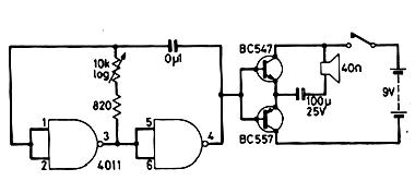 Oscilador de Áudio CMOS
