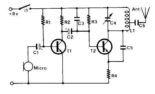Micro-Transmissor de FM